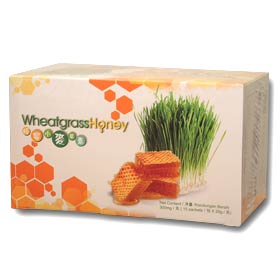 Wheatgrass Honey (15 sachets)