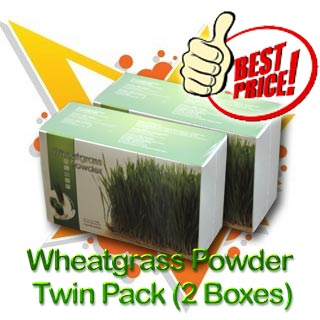 Wheatgrass Powder Twin Pack